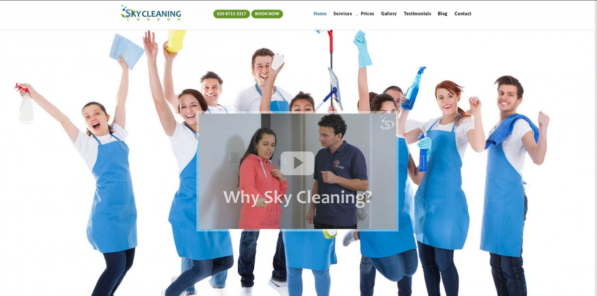 Sky Cleaning London.